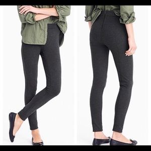 J. Crew Charcoal Gray Any Day Stretch Pixie Pants